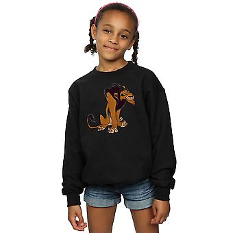Disney Girls The Lion King Classic Scar Sweatshirt