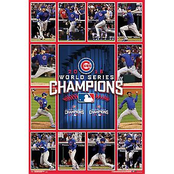 2016 World Series - Chicago Cubs Team Poster Print