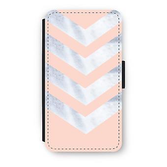 Samsung Galaxy A3 (2017) Flip Case - marmor piler