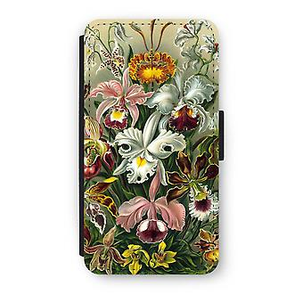 iPhone X Flip Case - Haeckel Orchidae