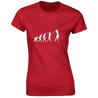 Golf van Evo Evolution Womens T-Shirt 8 kleuren (8-20) door swagwear