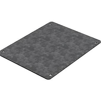Mounting plate (L x W) 212.5 mm x 142.5 mm Steel plate Deltron