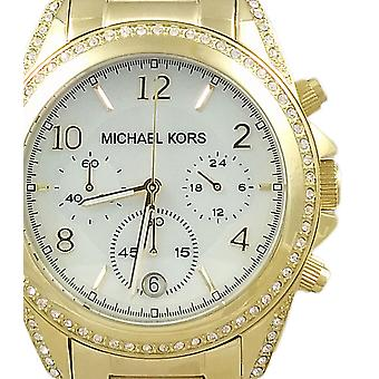 Michael Kors Ladies Watch Chronograph Blair Gold MK5521