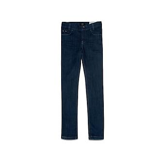 Boss Hugo Boss Boys Dark Wash Montana Slim Fit Jean
