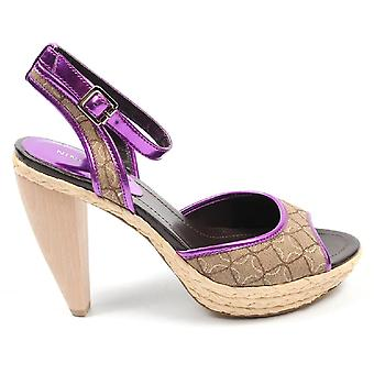 Nine West Womens Ankle Strap Sandal Nwciscoann Mpnk Mnat