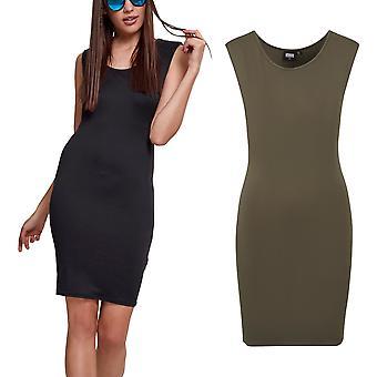 Urban classics ladies - BASIC summer mini dress
