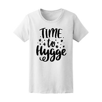 Time To Hygge Danish Tee Women's -Image by Shutterstock