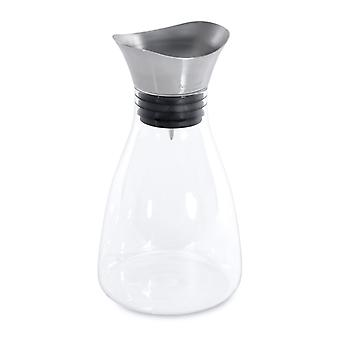 BergHoff Eclipse - Water Carafe - Glass Stainless Steel and Silicone - 1.2l