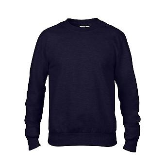 Anvil Mens  Adult Crew Neck French Terry Sweatshirt