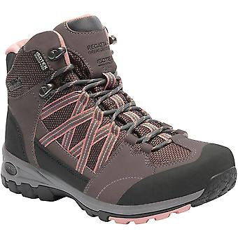 Regatta Womens/Ladies Lady Samaris Mid Breathable Mesh Walking Boots