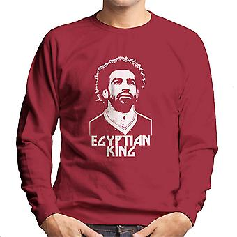 Mo Salah Egyptian King Liverpool Men's Sweatshirt