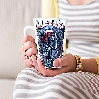 Upadły Anioł Dziewczyna Fantasy Nowa Biała herbata kawa Latte ceramiczny kubek 17 oz   Wellcoda