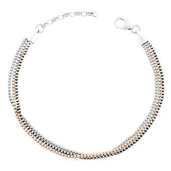 Orphelia Silver 925 Bracelet 18+3 Cm Tricolor Balls  ZA-7203