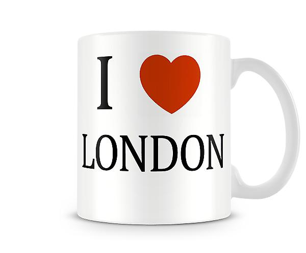 I Love London Printed Mug