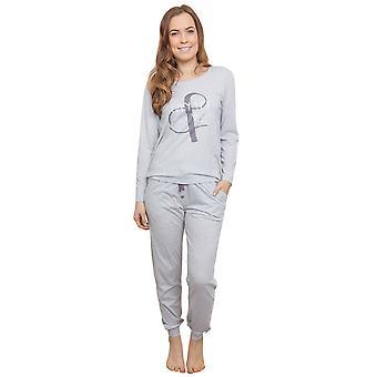Cyberjammies 3811 Frauen Erica grau Pyjama Pyjama Top