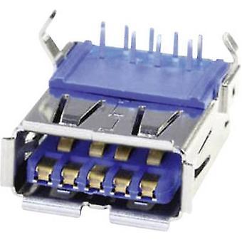 Socket-Design A USB 3.0 Buchse, horizontale Halterung U3BU1AN 1 Port Econ verbinden Inhalte montiert: 1 PC