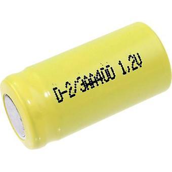 Mexcel D-2/3AA400 non standard della batteria (ricaricabile) 2/3 AA Flat top NiCd 1.2 V 400 mAh