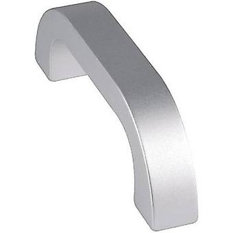 Handle Aluminium (anodised) (L x W x H) 164 x 20 x 45 mm Mentor 3312.1401 1 pc(s)