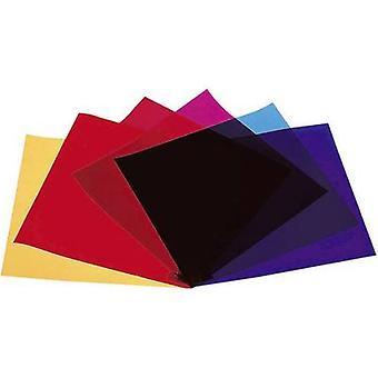 Lighting filters 4-piece set Eurolite Red, Blue, Green, Yellow S
