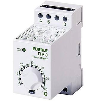 Termostato de montaje DIN rail 0 hasta 60 ° C ITR Eberle-3 528 800