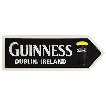 Guinness kufel szkło drogowskaz 3D żywicy lodówka magnes (5020)