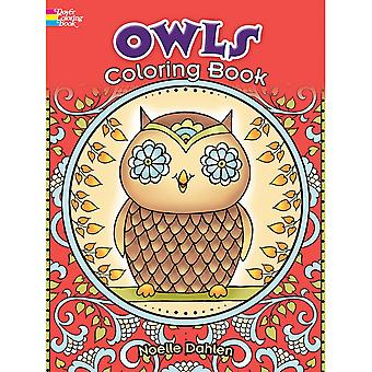 Dover Publications-Owls Coloring Book