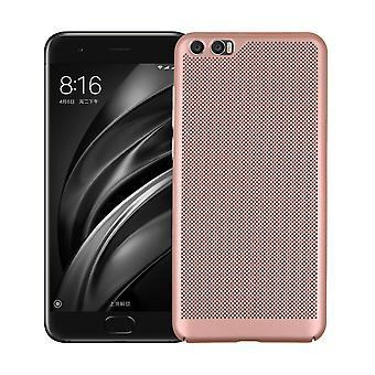 Tienda rey caso transpirable de Xiaomi MI 5c rosa