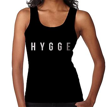 Hygge White Text Women's Vest