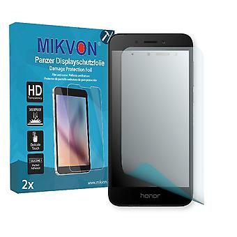 Honor 6A Screen Protector - Mikvon Armor Screen Protector (Retail Package with accessories)
