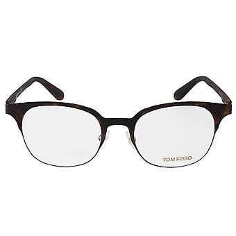 Tom Ford FT5347 52 Square | Mat Havana | Lenzenvloeistof Frames