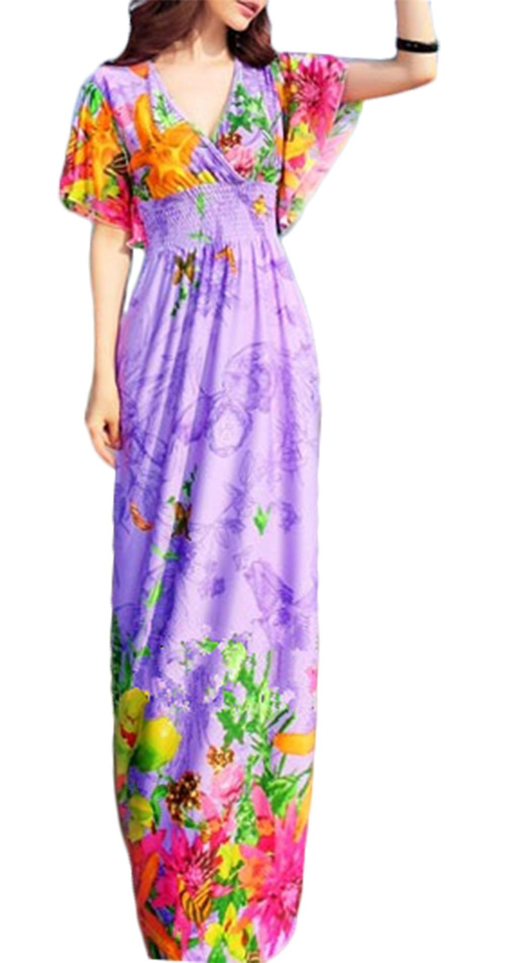 Waooh - Beach Dress Floral Fari