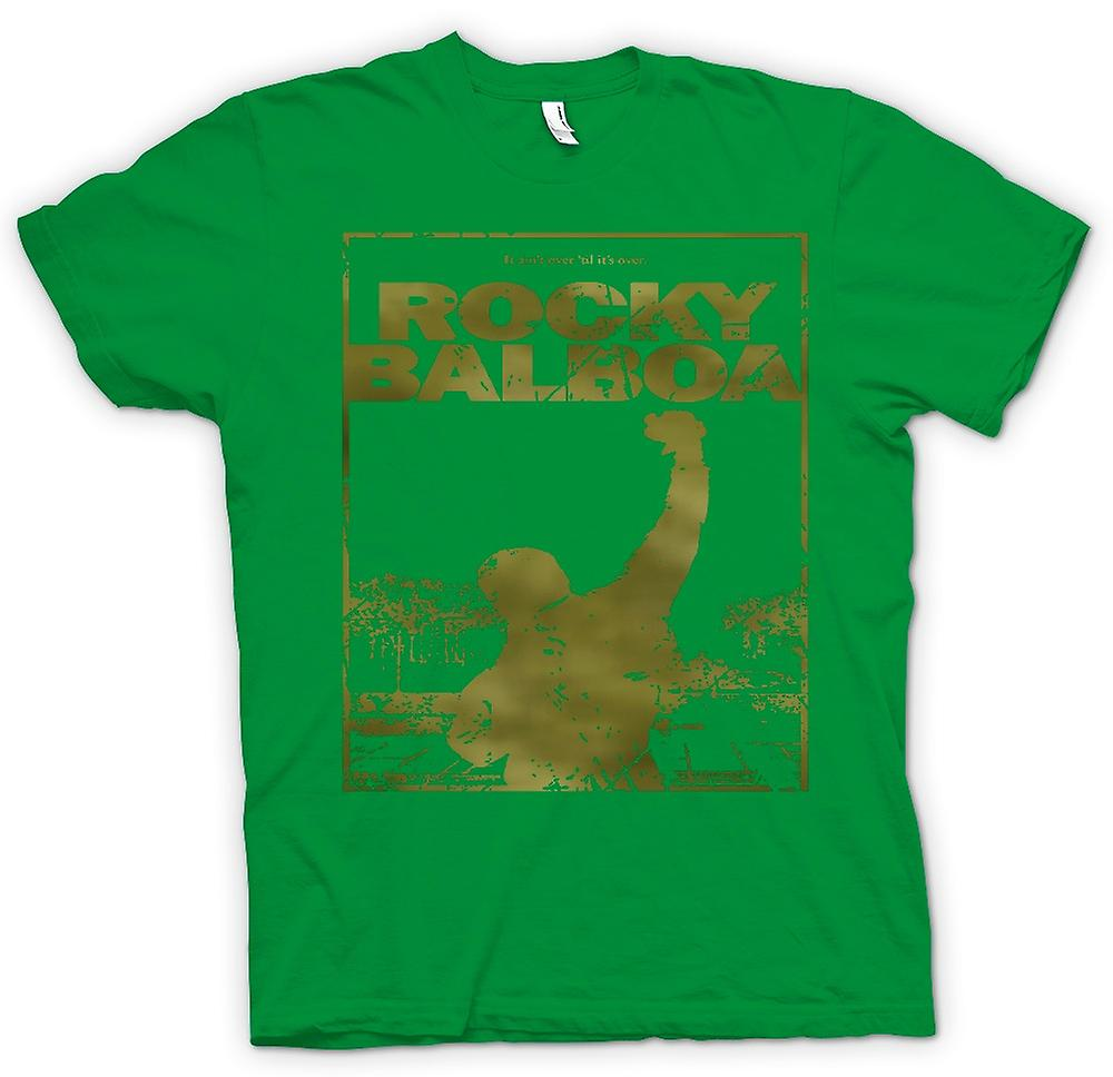 Mens T-shirt - Rocky Balboa Punch - Movie - Funny