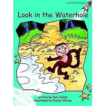 Look in the Waterhole: Level 2: Fluency (Red Rocket Readers: Fiction Set B)