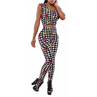 Waooh - Set top and legging checkered Quer