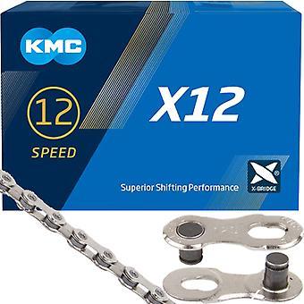 KMC X 12 12 x cadena de la bicicleta / / 126 enlaces