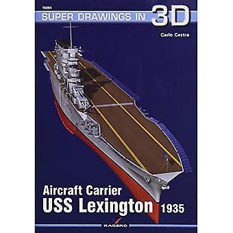 Aircraft Carrier USS Lexington 1935 (SuperDrawings in 3D)