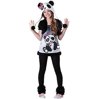 Grappige Panda kind kostuum