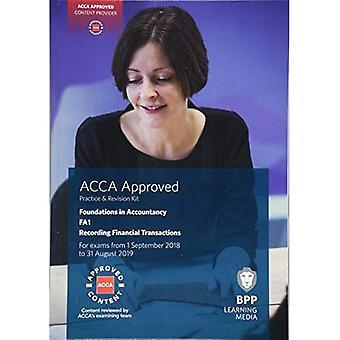 FIA enregistrement des Transactions financières FA1: Pratique et Kit de révision