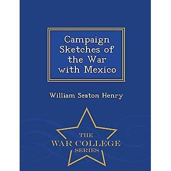 Croquis de campagne de la guerre avec le Mexique War College série par Henry & William Seaton