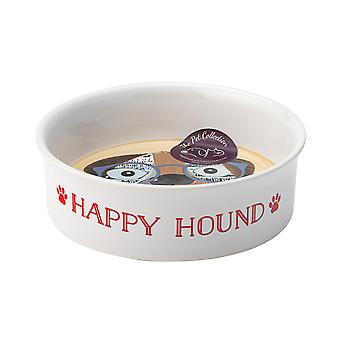 English Tableware Co. Perfect Pets Medium Bowl, Happy Hound