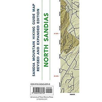 Sandia fjällvandring Guidekarta, reviderade och utökade upplagan