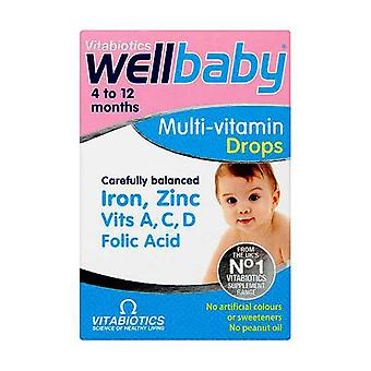 Vitabiotics Wellbaby Drops Liquid 30Ml