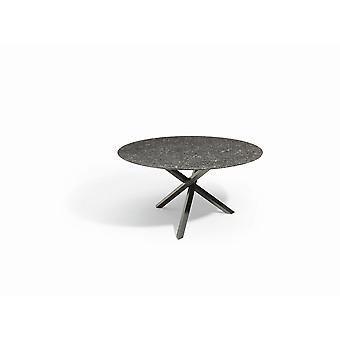 Granite-Garden Gigi tuintafel 80 Øx45 cm - antraciet