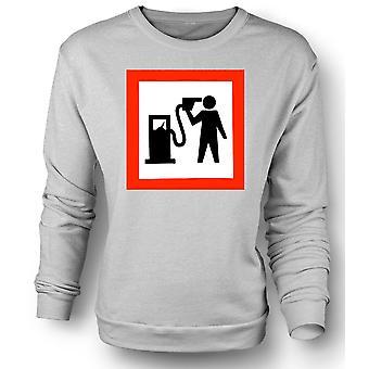 Mens Sweatshirt Petrol Head Love Motors