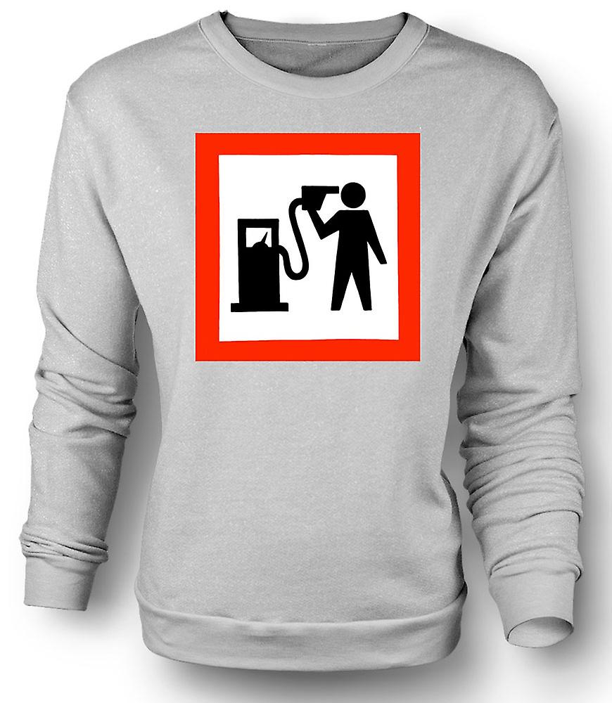 Mens Sweatshirt essence tête aime Motors
