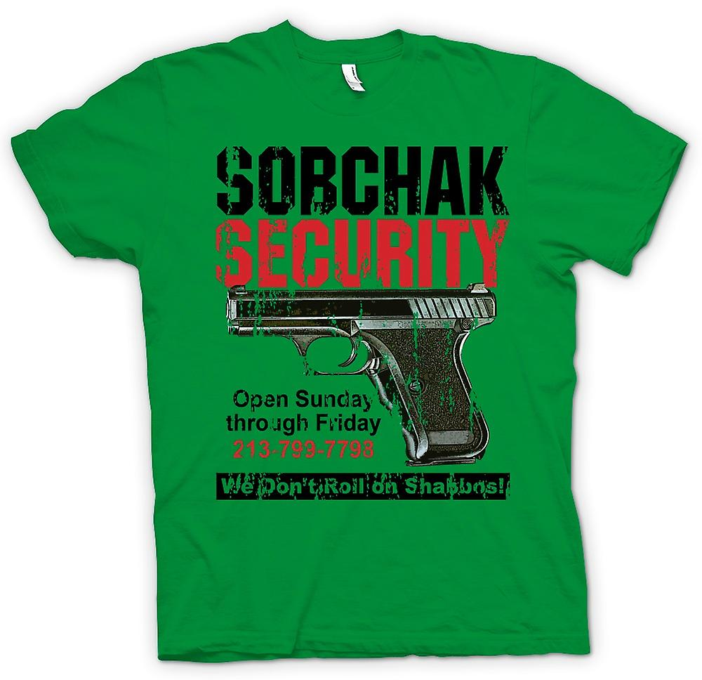 Mens t-shirt-Sobchak Security - noi Don t Roll On Shabbos