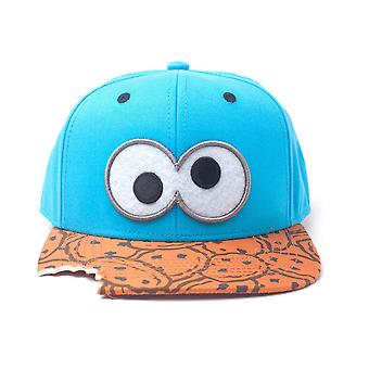 Sesame Street Cookie Monster Snapback Cap Multicolour (SB090601SES)