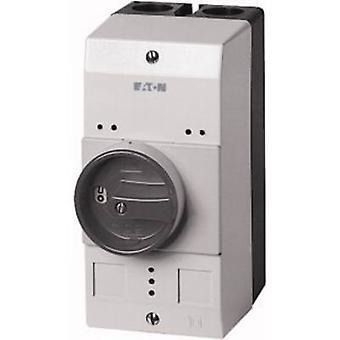 Enclosure + rotary switch (L x W x H) 158 x 80 x 126 mm Black, Grey Eaton CI-PKZ0-GM 1 pc(s)