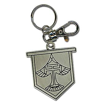Key Chain - Free! - New Iwatobi HS Emblem Metal Anime Licensed ge37378