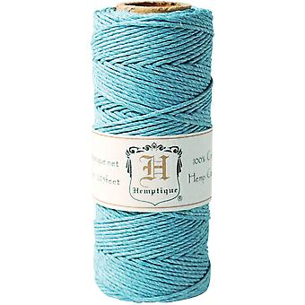 Hemp Cord Spool 20# 205' Pkg Light Blue Hs20 Ltbl